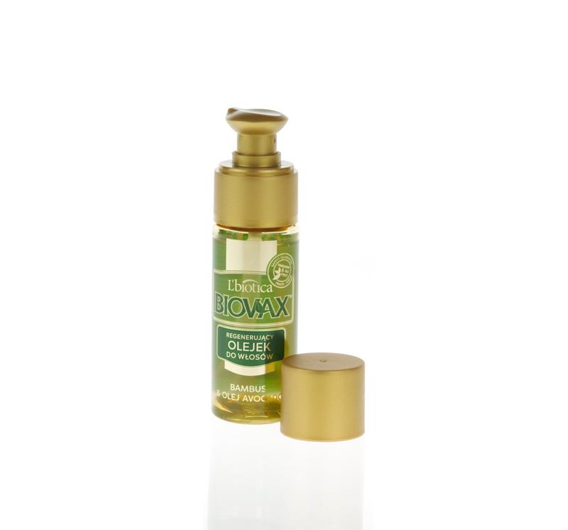 Biovax Bambus & Olej Avocado – haarherstelolie